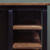 industrial desk shelves