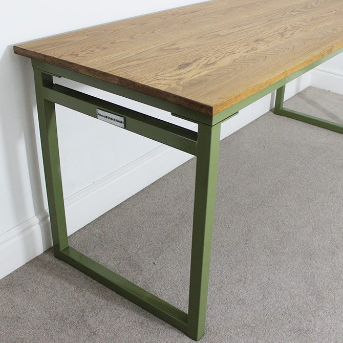 industrial style desk medium