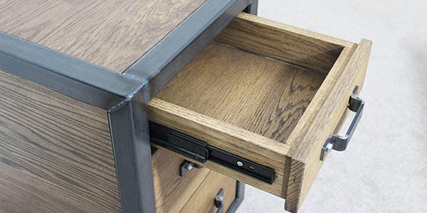 industrial style drawers