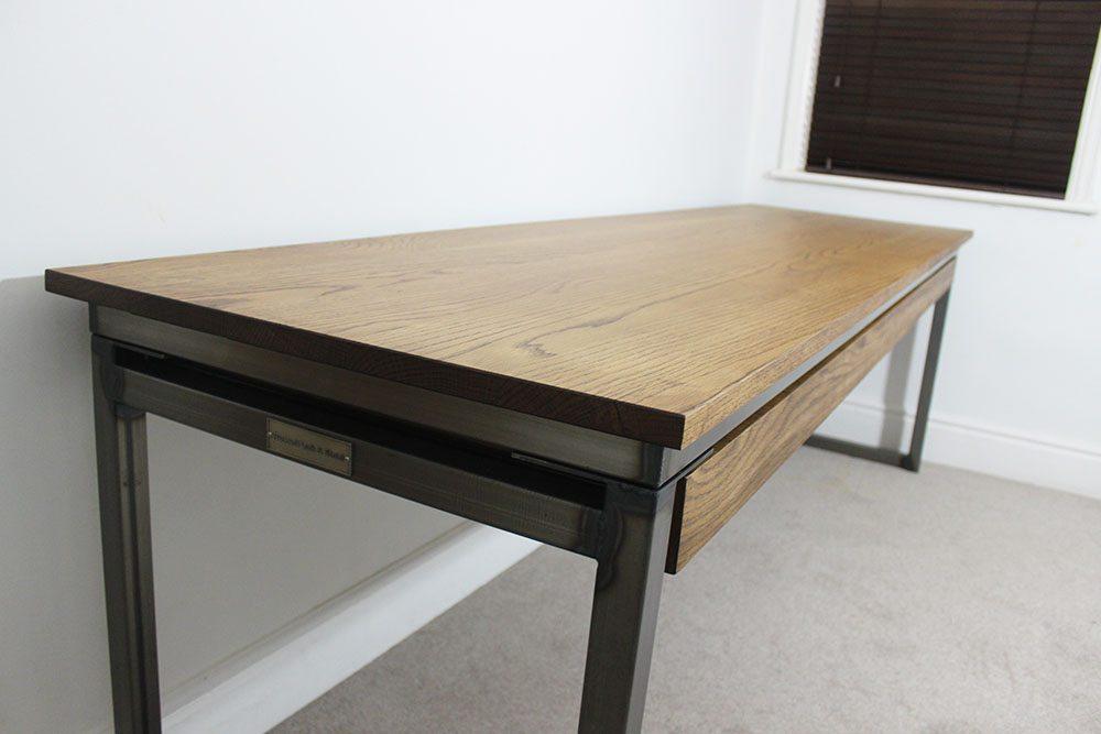 luxury style industrial desks