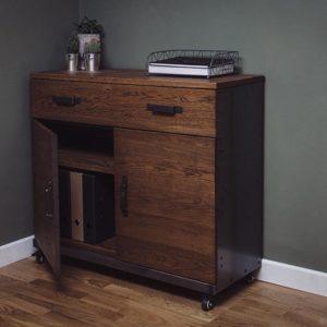 metal sideboard cabinet