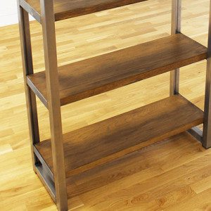 oak-and-steel-industrial-bookcases