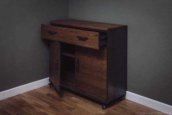 oak sideboard cabinet