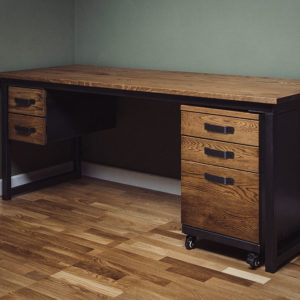 remington desk with 5 drawers