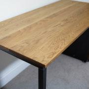 remington oak desk