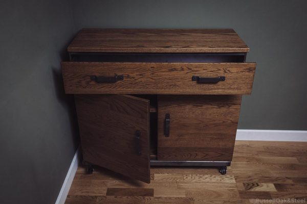 rustic sideboard cabinet