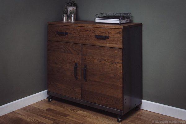 steel sideboard cabinet