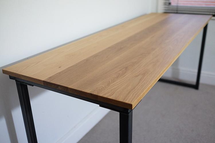 tall industrial desk