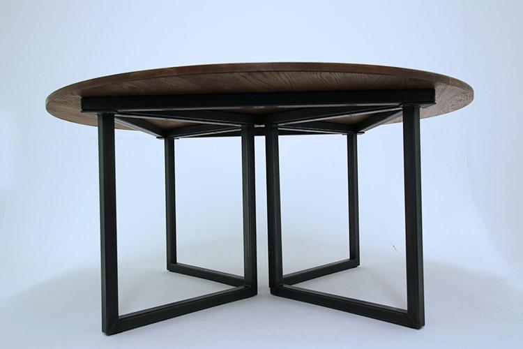 vintage circular table