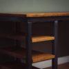 vintage desk shelves