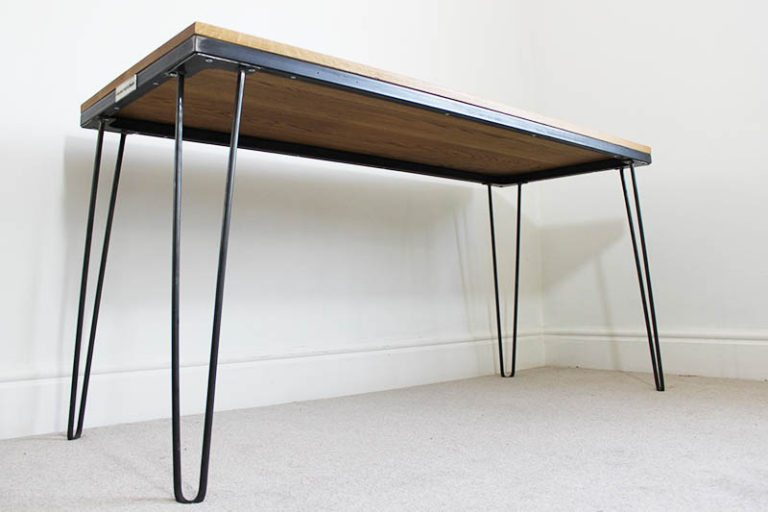vintage hairpin leg desk