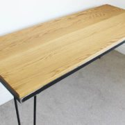 vintage hairpin leg table