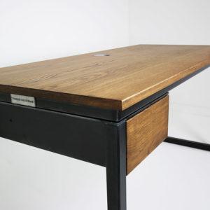 vintage office desk with drawer
