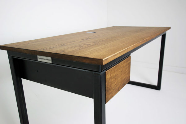 vintage office desk with drawer