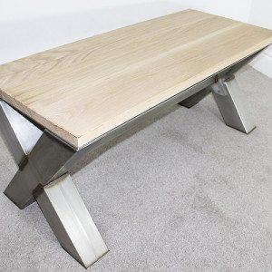 x-frame-vintage-coffee-table